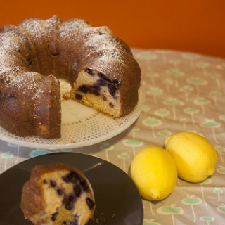 bundt cake and lemon